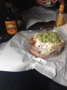 Burrito Bowl at Boojum