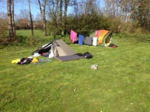 Camping in Ternaard